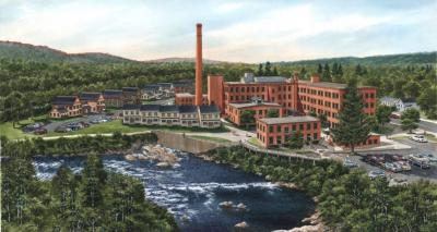 Artist Rendering of Cable Mills in Williamstown