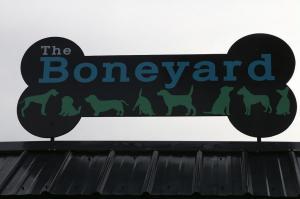 Boneyard Sign