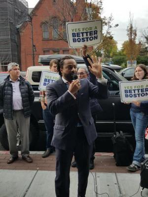 Boston Representative Carvalho