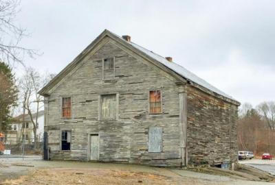 Canton, Paul Revere Barn BEFORE renovation and adaptive reuse