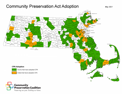 Map of all CPA Communities