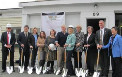 Groundbreaking Ceremony for Firehouse Place in Hamilton