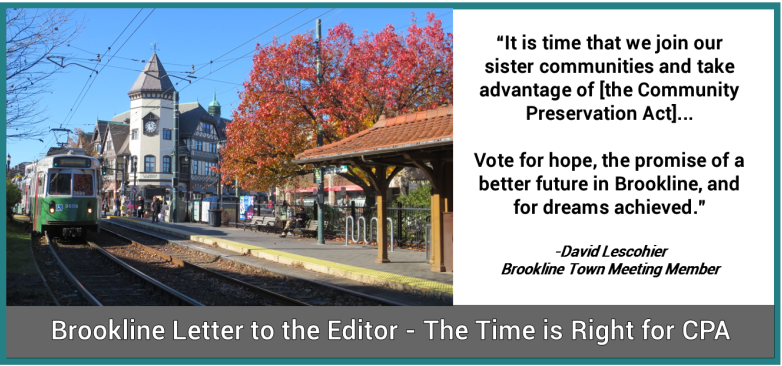 Brookline CPA Letter to the Editor
