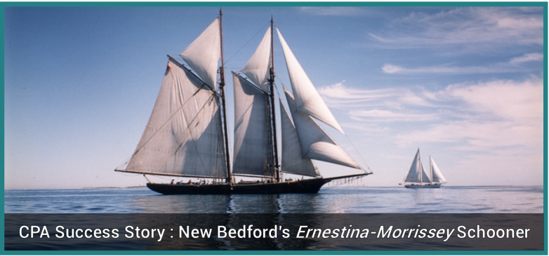 The Ernestina-Morrissey Schooner - Photo by Susan Bank