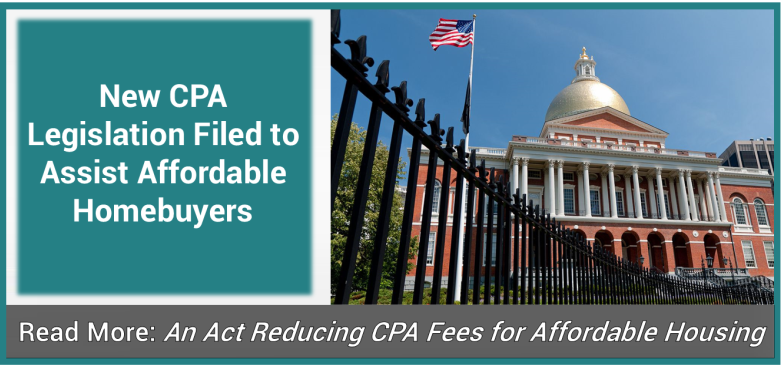 CPA Legislation Filed to Assist Affordable Homebuyers