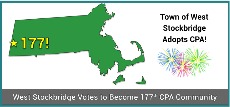 CPA Adoption Update: West Stockbridge Adopts CPA; Franklin Moves to November Ballot
