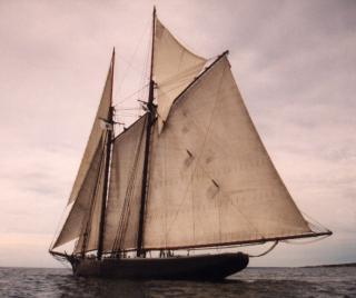 The Ernestina-Morrissey Schooner in New Bedford