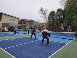 Pickleball Courts in Randolph
