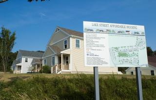 Affordable homes at Lake Terrace in Chatham.