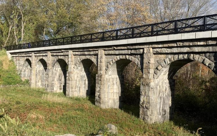 The Heart of Holliston: CPA Restores the Upper Charles Rail Trail & Historic 8-Arch Bridge